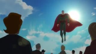 تریلر انیمشین Superman redson