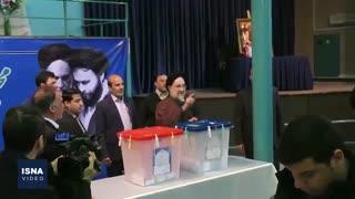 انتخابات ۹۸ در حسینیه جماران
