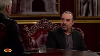قسمت 13 فصل 4 برنامه دورهمی مهران مدیری با حضور برزو ارجمند