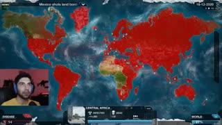 Plague Inc: Evolved || ویروس کرونا میتونه بر انسانها پیروز بشه؟|پارت اول