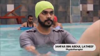 ورزش در آب در هیدروجیم برای سالمندان