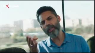 فیلم سینمایی متری شش و نیم ، دیالوگ ناصر خاکزاد و مامور در ون پلیس