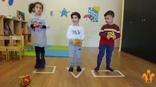 مهد کودک بازی محور نارنج