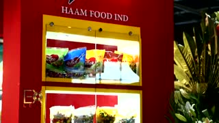 غرفه نمایشگاهی صنایع غذایی حام