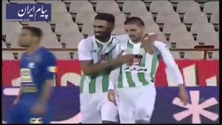 گل های بازی استقلال 2 - ذوب آهن اصفهان 1