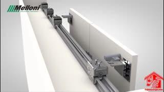 مکانیزم درب آکاردئونی مدل فیوچر ملونی کد 11032