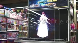 تبلیغات لوکس و منحصر بفرد با نمایشگر های سه بعدی ایرویژن