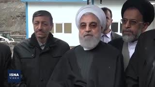 مراسم بهرهبرداری از قطعه یک آزادراه تهران - شمال