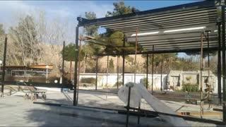 سقف چادری | سایبان چادری | پوشش چادری | کاور چادری | کاور رستوران 021.26207536