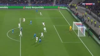 خلاصه بازی حساس و تماشایی لیون 1 - یوونتوس 0 از مرحله 1/8 لیگ قهرمانان اروپا
