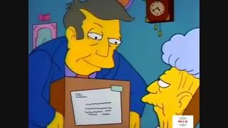 کرونا در سریال کارتونی خانواده سیمپسون