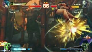 گیم پلی آنلاین بازی Ultra Street Fighter IV توسط ادمین Qeiji /قسمت دوم