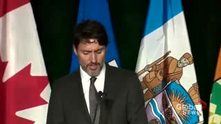 """Iran plane crash memorial: Justin Trudeau says """"All Canadians are mourning"""""""