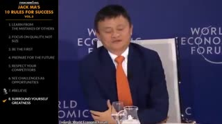 """Look at CHALLENGES as OPPORTUNITIES!"""" - Jack Ma - Top 10 Rules"""