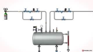 فشار مناسب منبع تحت فشار در سیستم گرمایش روغن