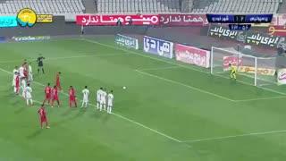 خلاصه بازی پرگل و تماشایی پرسپولیس 3 - شهر خودرو 1 از هفته 21 لیگ برتر ایران