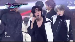 اجرای آهنگ ON از بی تی اس BTS در M Countdown