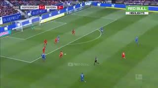 خلاصه بازی پرگل و جنجالی هوفنهایم 0 - بایرن مونیخ 6 از هفته 24 بوندسلیگا آلمان