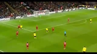 خلاصه بازی جذاب و دیدنی واتفورد 3 - لیورپول 0 از هفته 28 لیگ برتر انگلیس