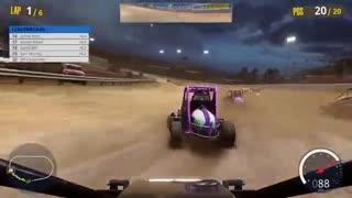 گیمپلی بازی  Tony Stewarts Sprint Car Racing