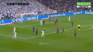 خلاصه بازی جذاب و تماشایی رئال مادرید 2 - بارسلونا 0 از هفته 26 لالیگا اسپانیا