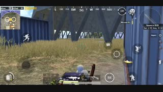 Solo War mode In Pubg Mobile - I Got M249