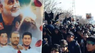 کلیپ عزاداری ایام فاطمیه مدرسه امام سجاد(ع) شهرک شهید محلاتی تهران