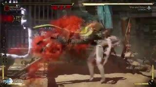 کومبو ویدیو بازی Mortal Kombat 11 با شخصیت Kotal Kahn