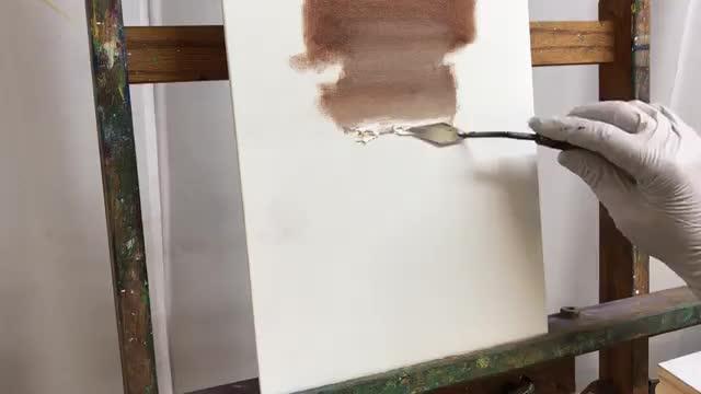 آموزش شیوه رنگ کردن لایه به لایه با تکنیک رنگ روغن