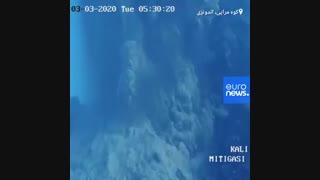 تصاویری از فوران آتشفشان کوه مراپی در اندونزی