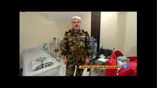 استقرار بیمارستان سیار نیروی زمینی ارتش در قم