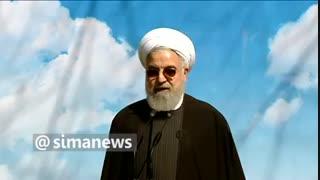 روحانی: درختان جنگلی اطراف تهران ۱۶ برابر ابتدای انقلاب شده است