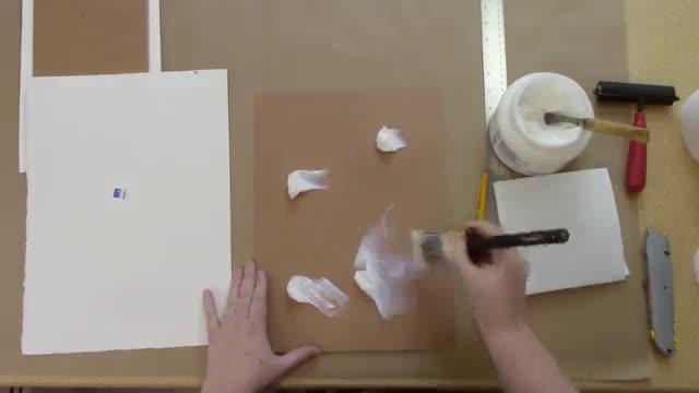 آموزش قاب کردن نقاشی آبرنگ بدون استفاده از شیشه