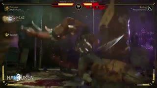 گیم پلی آنلاین بازی Mortal Kombat 11 با شخصیت Kotal Kahn