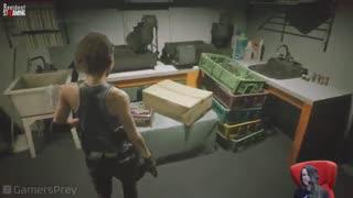 گیم پلی ویدیو جدید 20 دقیقهای از بازی Resident Evil 3 Remake - بازی مگ