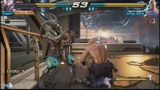 لحظات جذاب گیم پلی آنلاین بازی Tekken 7 با شخصیت Yoshimitsu