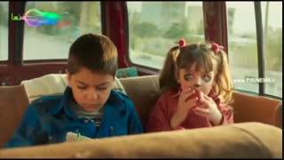 فیلم سینمایی قصر شیرین ، گفتگو بچه های جلال (حامد بهداد) در ماشین