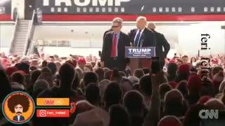 دونالد ترامپ در مقابل یک کرونایی / Donald Trump