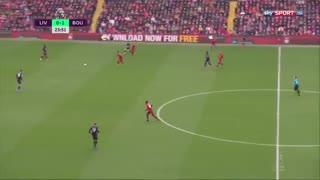خلاصه بازی تماشایی لیورپول 2 - بورنموث 1 از هفته 28 لیگ برتر انگلیس
