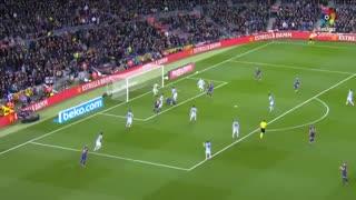 خلاصه بازی حساس بارسلونا 1 - رئال سوسیداد 0 از هفته 27 لالیگا اسپانیا