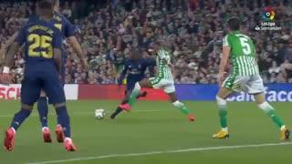 خلاصه بازی حساس و دیدنی رئال بتیس 2 -  رئال مادرید 1 از هفته 27 لالیگا اسپانیا
