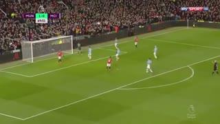 خلاصه بازی جذاب و دیدنی منچستریونایتد 2  منچسترسیتی 0 از هفته 28 لیگ برتر انگلیس