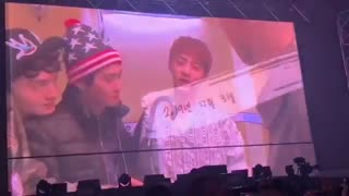 191231#ExplorationDot Day 3All Member Cried Wathing Video From Chanyeol to Exo|crying moment