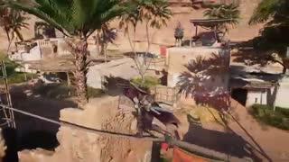 Assassin's Creed Origins - Persian Assassin Stealth Master, Dual Blade Kills & Highest Leap of Faith