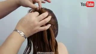 آموزش مدل مو دخترانه پیچ آشفته- مومیس مشاور و مرجع تخصصی مو