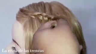 آموزش مدل مو دخترانه نوارهای ترکیب شده- مومیس مشاور و مرجع تخصصی مو