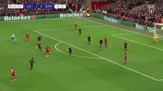 خلاصه بازی پرگل و جذاب لیورپول 2 - اتلتیکومادرید 3 از مرحله 1/8 نهایی لیگ قهرمانان اروپا