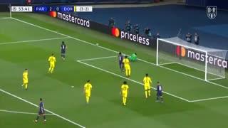 خلاصه بازی پاری سن ژرمن 2 - دورتموند 0 از مرحله 1/8 نهایی لیگ قهرمانان اروپا