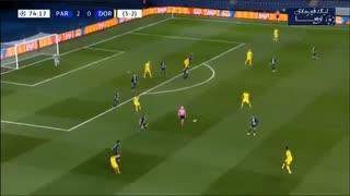 خلاصه بازی پاریسنژرمن 2_0 دورتموند (دور برگشت مرحلۀ 1.8 لیگ قهرمانان اروپا)