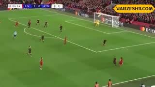خلاصه بازی لیورپول 2_3 اتلتیکو مادرید (دور برگشت مرحلۀ 1.8 لیگ قهرمانان اروپا)